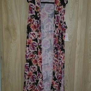 Lularoe Rose's Floral Joy XL
